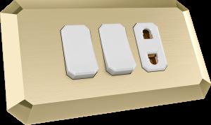 Brass Plate 01